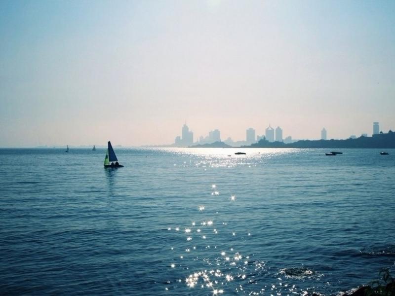 lh301纯青岛 极地海洋世界 奥帆中心 双体大帆船出海